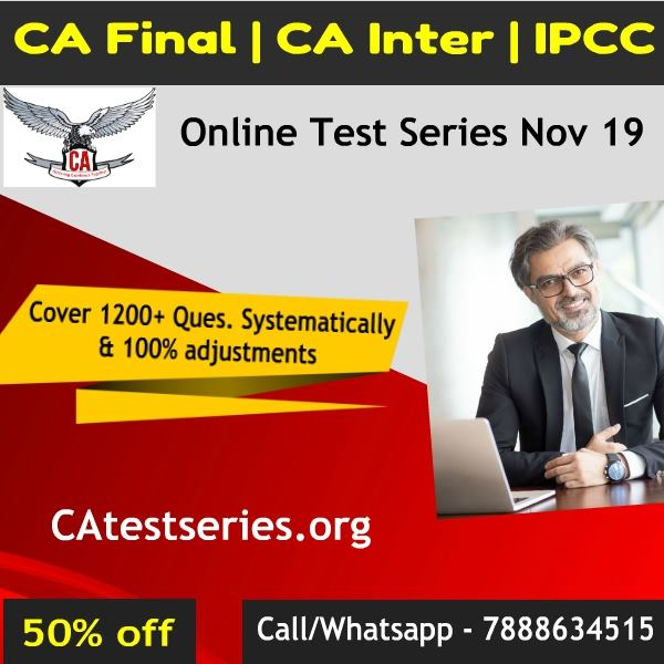 CA Test Series