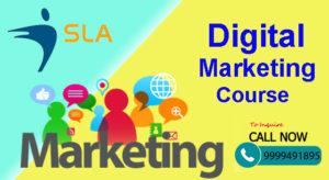 Best Digital Marketing Course in Noida to Attain Wider Knowledge in The Field- SLA Consultants Noida.