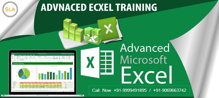 SLA Consultants Noida- Best Advanced Excel Training Institute in Noida