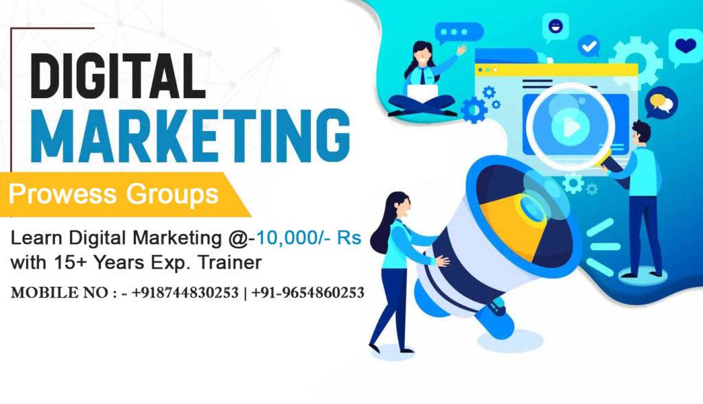 Prowessgroups Digital Marketing Training Institute Noida