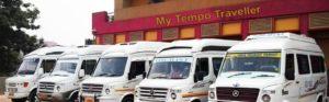 Tempo Traveller Hire in Delhi @ Rs.14 Per km