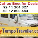Tempo Traveller Hire in Delhi @ Rs.14 Per km